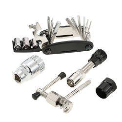 Bicycle Repair Tool Kit,Lixada Multi-function Bicycle Maintenance Tools Cycling Bike Repair Tool ...