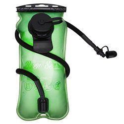 Baen Sendi Hydration Bladder 3 Liter//100 oz – Water Bladder for Hydration pack (Green, 3  ...
