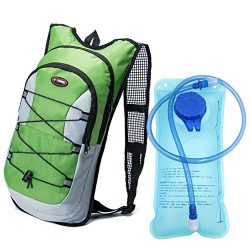 Monvecle Hydration Pack Water Rucksack Backpack Bladder Bag Cycling Bicycle Bike/Hiking Climbing ...