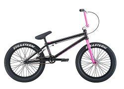 Eastern Bikes Trail digger BMX Bike, Black/Pink, 20″