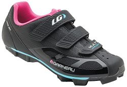 Louis Garneau Women's Multi Air Flex Bike Shoes, Black/Pink, US (7), EU (38)