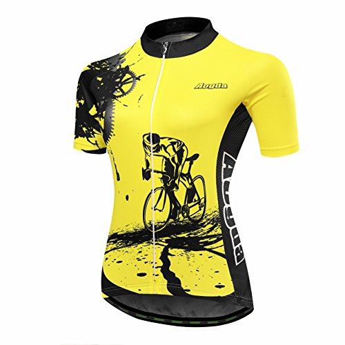 Aogda Short Sleeve Women's Cycling Jersey Girls Bicycle Bike Cycle Clothing Wear/Shirt D91 ...