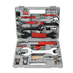 OCGIG 48 Pcs Professional Bike Repair Tools Set Kit Multi-Functional Bicycle Maintenance Tools