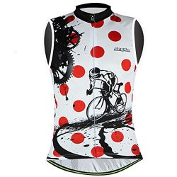 Aogda Cycling Jerseys Women Bike Shirts Bicycle Bib Pants Ladies Cycling Clothing (2 Vest Jersey ...
