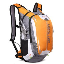 LOCALLION Cycling Backpack Riding Backpack Bike Rucksack Outdoor Sports Daypack for Running Hiki ...