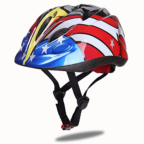 Dostar Kids Bike Helmet – Adjustable Helmet Cycling Scooter Multi-sport Durable Kid Bicycle Helm ...