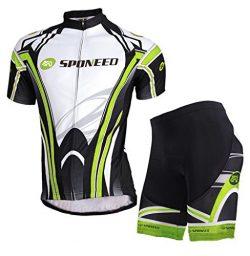 sponeed Bicycle Jersey Men Shorts Cycling Clothing Padded Tights Pants Breathable Asian XL/US L  ...