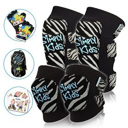 Innovative Soft Toddler Knee and Elbow Pads Plus BONUS Bike Gloves | Kids Protective Gear Set |  ...
