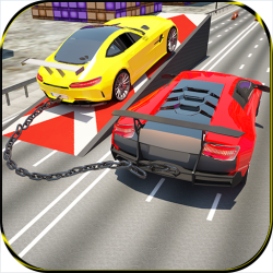 Chained Cars & Vehicles: Impossible Hybrid Driving