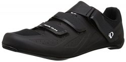 Pearl iZUMi Men's Select Road v5 Cycling Shoe, Black/Black, 46.0 M EU (11.5 US)