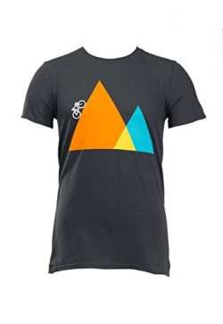 Noble Mountain Bike Climb Logo Shirt by Cycling – Bicycle T-Shirt for Men (LG)
