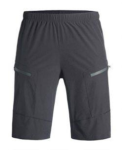 Przewalski Basics Men's MTB Mountain Bike Cycling Shorts with Padded Underliner – Tw ...