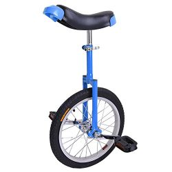 Deluxe Blue Comfortable Release Saddle Seat Adjustable 16 Inch In 16″ Mountain Bike Wheel  ...