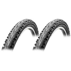 Sunlite K847 Kross Plus Goliath 26×1.95 PAIR Mountain Bike Tires Urban/Trail