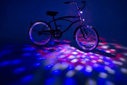 Brightz, Ltd. Cruzin Brightz Blinking LED Bicycle Accessory, Patriotic
