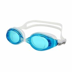 Swimming Goggles Men Women Silicone High Definition Waterproof Anti-fog Flat Mirror Lens Glasses ...
