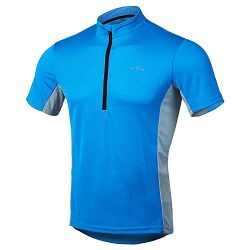 Short Sleeve Cycling Jersey – US Size Men's Shirts for Running Exercise