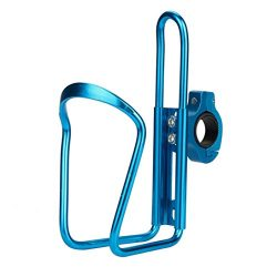 KingWo Bike Bicycle Cycling Aluminum Water Bottle Holder Cage Rack 4 Color Optional (Blue)