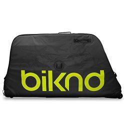 BIKND Jetpack V2 XL Bike Travel Case Black/Green, One Size