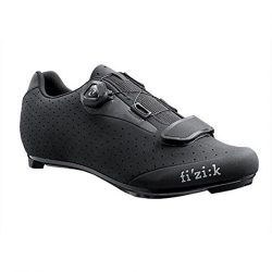 Fizik R5 Uomo – BOA – Black/Dark Gray 45/11 1/2 Mens Shoes Bike/Cycling