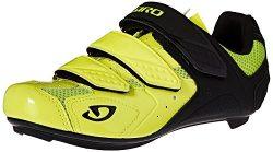 Giro Men's Treble II Highlight Yellow/Matte Black Bike Shoe – 39 M EU