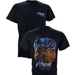 Extreme Muddin' Dirt Bike on a Black T Shirt – Small