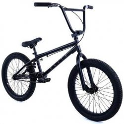 "Elite 20"" BMX Bicycle The Stealth Freestyle Bike New 2018 (Matte Black)"