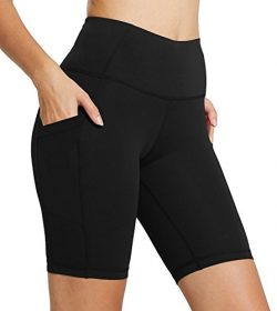 FIRM ABS Women's Tummy Control Fitness Workout Running Yoga Bike Shorts Black S
