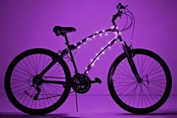Brightz Cosmic LED Bicycle Frame Light, Purple