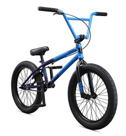 Mongoose Legion L80 20″ Freestyle BMX Bike, Blue