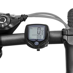 XINTO Premium Bicycle Odometer and Speedometer, Wireless Backlight Waterproof Cycle Bike Compute ...