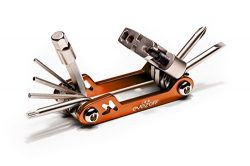 EyezOff Folding Bicycle Multi Tool With 18 Functions (Orange/Silver)