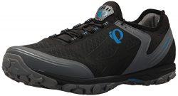 Pearl iZUMi Men's X-Alp Journey Cycling Shoe, Black/Shadow Grey, 48.0 M EU (13 US)