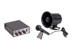 Wolo (345 Animal House Electronic Horn and P.A. System – 12 Volt