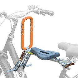 UrRider Front Mount Child Bike Seat, Portable, Foldable & Ultralight Kids' Bike Carrier Kids ...