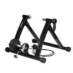 UNISKY Indoor Exercise Cycling Fitness Magnetic Bicycle Trainer Stand- Variable 6 levels of Resi ...