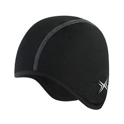 Baleaf Thermal Skull Cap Helmet Liner Black