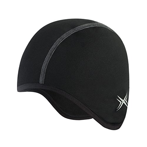 Baleaf Thermal Skull Cap Helmet Liner Black