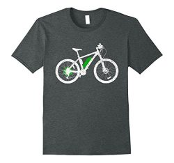 Mens e-bike T-Shirt – Electric Bicycle and Pedelec Cycle Design XL Dark Heather