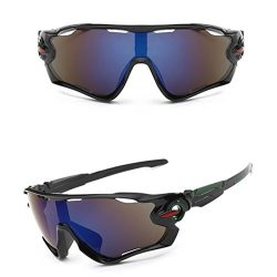 Cycling Glasses,UMFun Outdoor Polarized Bike Glasses Bicycle Sunglasses Mountain Sport Eyewear U ...