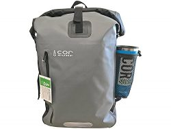 COR Board Racks Cor – Waterproof Backpack – With Padded Laptop Sleeve 40L Grey &#821 ...