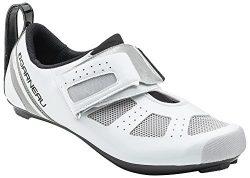 Louis Garneau – Tri X-Speed 3 Triathlon Bike Shoes, White/Drizzle, US (9), EU (42)