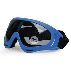 Freehawk Protective BMX Eyewear Goggles with Adjustable Strap for Hunting Riding BMX Cycling Mot ...