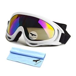 Freehawk Motorcycle Goggles UV Protection Adjustable Outdoor Glasses Dust-proof Windproof