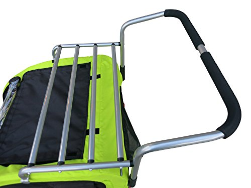 Cargo Rack for Large Pet Dog Strollers and Bike Trailers (Large)