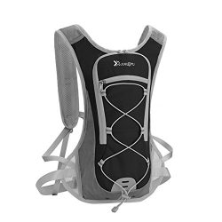 hengreda Hydration Bladeer Backpack Hiking Cycling Lightweight Small Daypack with Adjustable Pad ...