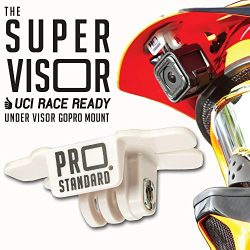 Super Visor Low Profile Under Visor Helmet Mount for GoPro Cameras