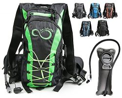 Live Infinitely Hydration Backpack With 2.0L TPU Leak Proof Water Bladder- 600D Polyester -Adjus ...