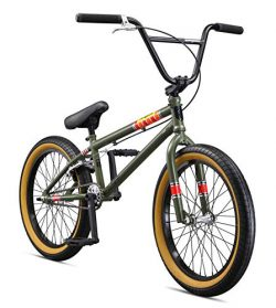 Mongoose Legion L100 20″ Freestyle BMX Bike, Green