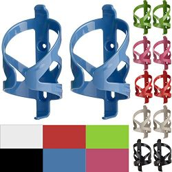 50 Strong Bike Water Bottle Holder 2 Pack – Made in USA – Easy to Install – Durable Bicycl ...